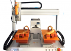 瑞德鑫灵活通用6331桌面式自动拧螺丝机三轴连动汽车零部送料