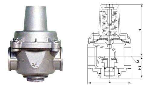 YZ11X支管减压阀