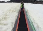 滑雪魔毯厂家保养须知 雪地魔毯景区旅游电梯输送带