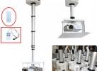 晶固投影仪电动伸缩吊架摄像机天花升降柱