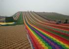 七彩虹旱雪滑道设计安装费用 抖音网红四季项目滑道厂家