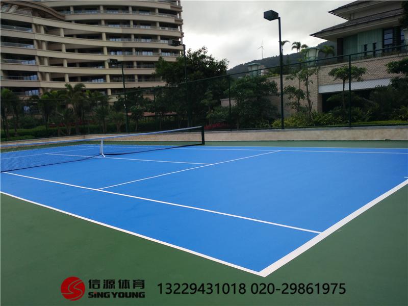 标准网球场施工建设网球场围网灯光专业厂家