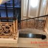 中式铜楼梯扶手 镀铜扶手许许多多方案