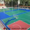 海口篮球场建设,新国标塑胶篮球场施工建设厂家