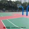 海南文昌琼海新国标篮球场建设厂家价格