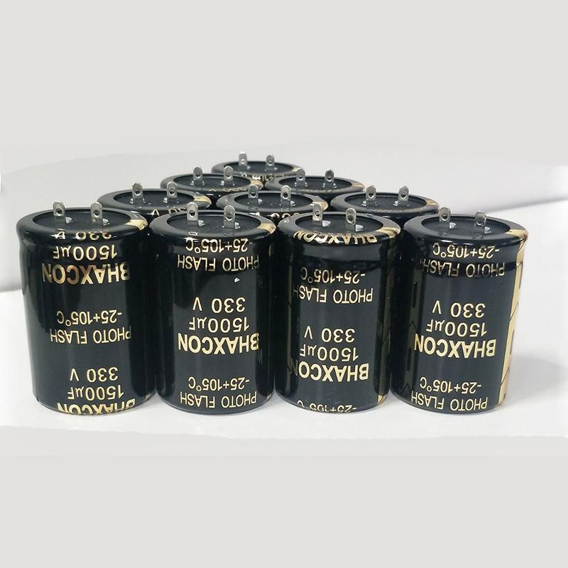 闪光灯电解电容、脉冲光专用铝电解电容