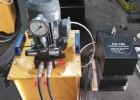 CH-100钢板冲孔机,100吨厚铁板打孔机,小型液压冲床
