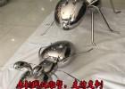 不锈钢蚂蚁雕塑,镜面效果,美轮美奂