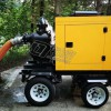 6寸强自吸柴油机排污泵车