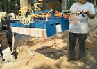 水泥砖抱砖机 码砖机
