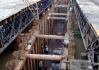 杭州打桩机出租钢板桩出租拉森桩出租打拔一条龙服务鑫业建筑