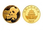 2019年熊猫ji念币 100克 金币