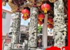 常用的石雕大殿龙柱 石雕小龙柱 石雕龙柱制作款式