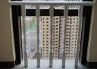 海口实木栏杆护栏安装-白色款楼梯护栏扶手
