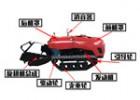 微型遥控履带果园管理机,果园遥控履带微耕机施肥机价格便宜