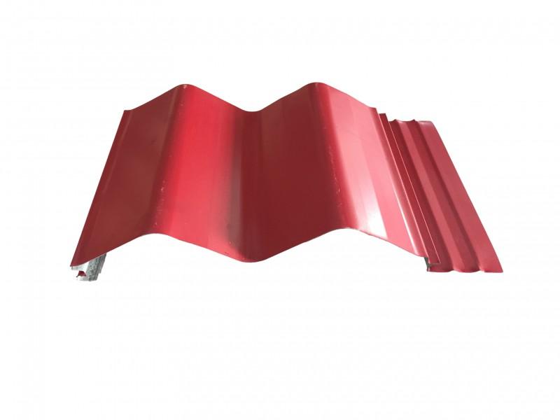 河南隐藏型大波浪310波浪彩钢板镀铝锌压型钢板厂家供应