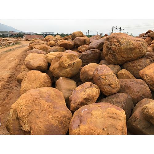 鞍山黄蜡石原石