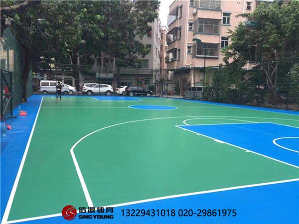 海南海口室内PVC篮球场施工建设厂家,质优价廉!