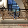 山东欧式楼梯扶手 设计制造铜楼梯别墅扶手