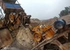二手日产300吨砂石料生产线设备47颚式破碎机低价处理