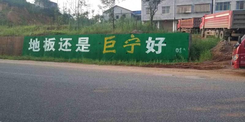 怀化市鹤城区中方县洪江市墙体广告、彩绘喷绘制作