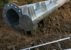 10kv35kv双回路钢管杆直线钢杆,霸州市顺通电力设备厂