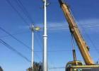 阳泉市66kv电力钢杆价格 电力钢杆报价顺通电力设备厂
