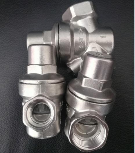 K06全不锈钢可调式减压阀 水压调节控制阀 自来水入户减压阀