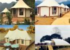 格拉丹野奢酒店帐篷 景区帐篷酒店设计 整包配套装修 风格定制