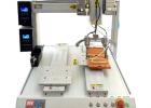 清遠直供瑞德鑫自動鎖螺絲機玩具擰緊鎖付四軸平臺