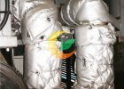 柴油机汽车排气管引擎管道隔热保温衣 发动机排气管隔热套