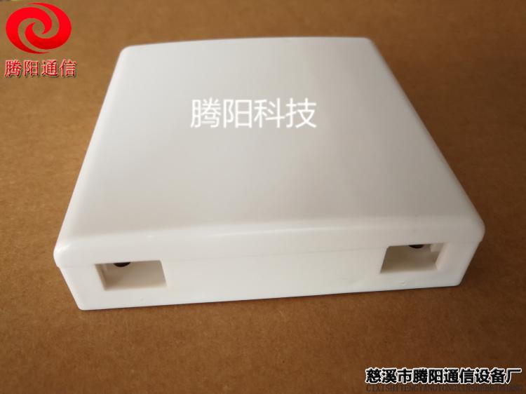 2口光纤桌面盒 2口光纤面板盒 2口信息面板盒