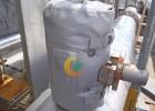 DN80球阀截止阀保温衣保温罩 管道法兰保温罩隔热罩