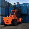 35吨叉车|山东港口码头运输堆垛35吨集装箱重箱叉车
