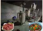 做鸭血机器-羊血块加工设备工艺-羊血豆腐生产线设备