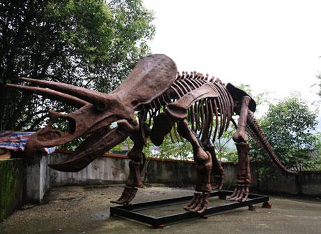 仿真机械恐龙模型制作工厂