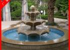 欧式喷泉石雕 锈石喷泉 石雕喷泉2米直径多少钱