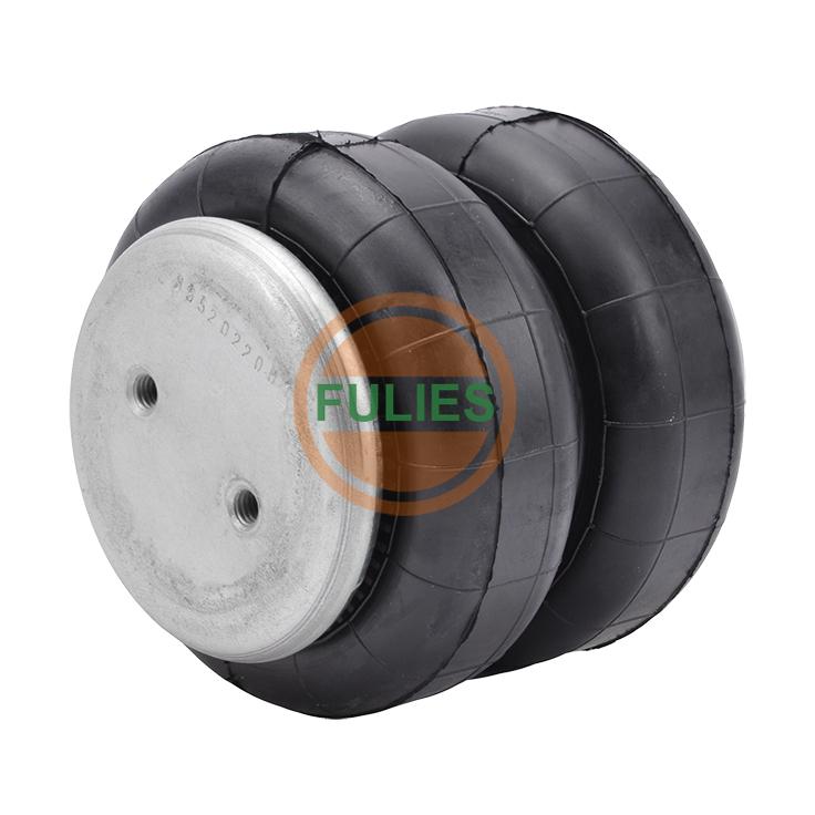 空气悬挂橡胶气囊减振2B5332减噪气囊进口橡胶郑州生产厂家