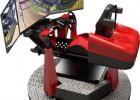 新款游戏游乐设备动感赛车模拟器 旋转360度模拟赛车厂家价格