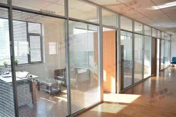 双玻璃百叶隔断的供应与销售