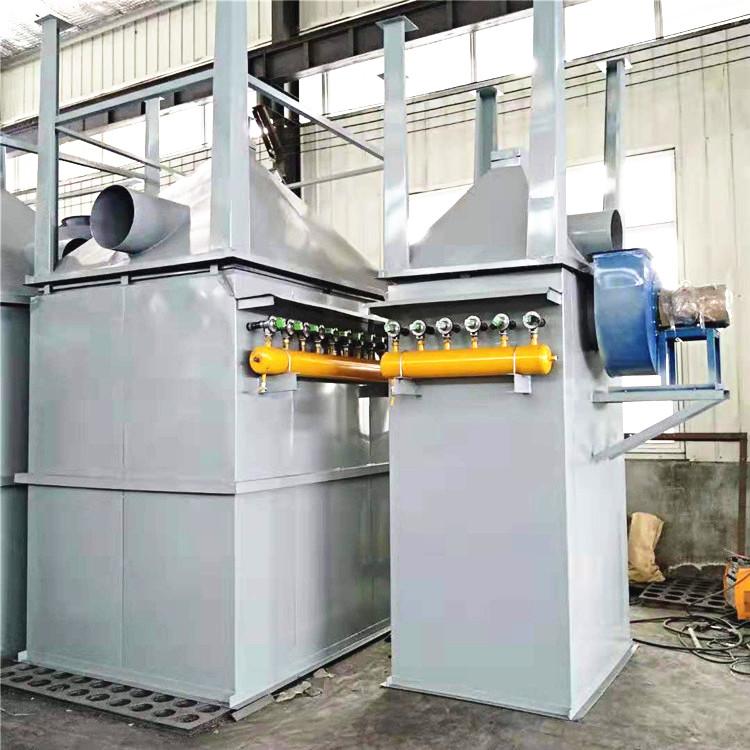 邢台0.2吨燃气锅炉单机除尘器48布袋设备处理风量3000