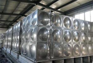宁夏专业定制水箱-银川哪里有卖不锈钢水箱
