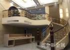 奥金斯铝艺楼梯铜艺楼梯扶手成为耀世臻品
