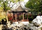 湖北实木景观凉亭、大型古建牌坊、景观长廊设计定做厂家