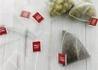 带标5.8*7一次性尼龙三角茶包袋立体花茶袋泡茶袋过滤袋