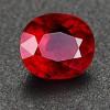 广西梧州仿天然红宝石A+深色小颗粒裸石1.7mm可做戒面首饰