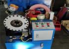 液压钢管对接机 大棚骨架缩管机 管材租赁铁管压头机