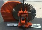 生产切墙机钢筋混凝土切墙机 电动轨道式切墙机