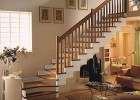 新款楼梯 实木楼梯