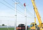 运城市66kv电力钢杆价格 电力钢杆报价顺通电力设备厂